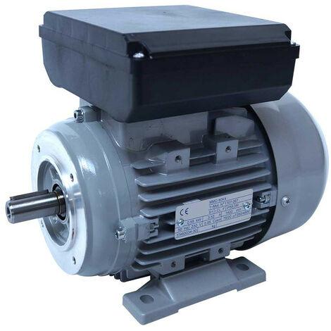 Moteur electrique 220v 0.75kW 3000 tr/min - B14