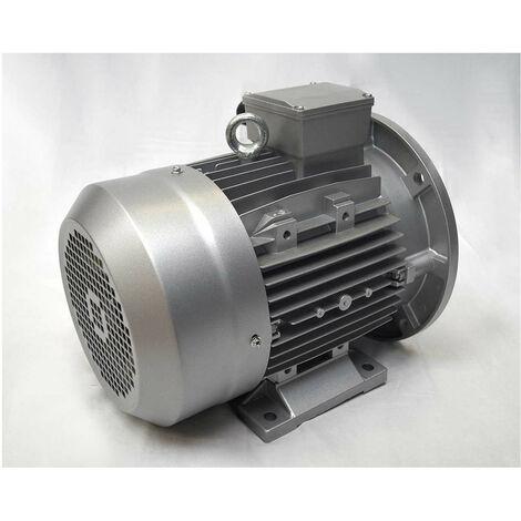 Moteur électrique triphasé 230/400V, 5.5Kw, 1500 tr/min -B35