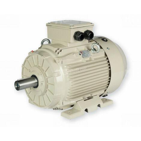 Moteur electrique 4 kW 3000 tr/min 230/400V triphasé ALMO ST3 - carcasse fonte
