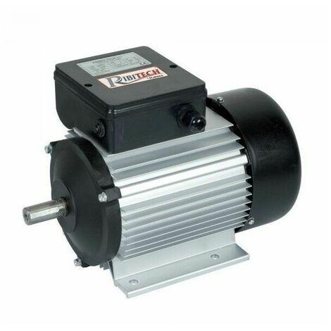 Moteur électrique monophasé 2CV 1400 tr/min - Ribimex