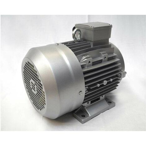 Moteur électrique triphasé 230/400V, 7.5Kw, 1500 tr/mn