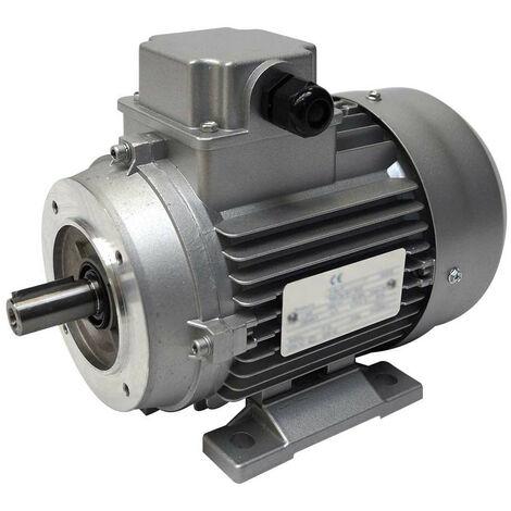 Moteur électrique triphasé 230V/400V 0.75Kw, 1500 tr/min, B14