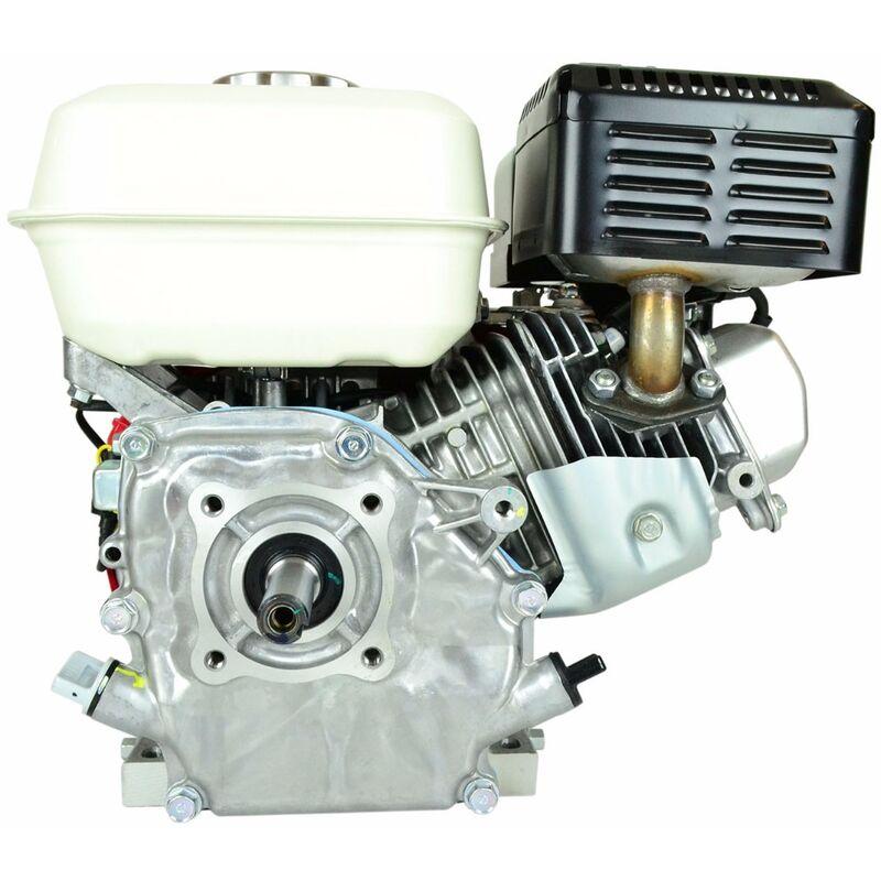 Jardiaffaires - Moteur GX160 type QX avec sécurité d'huile et interrupteur 19,05 x 61,5mm