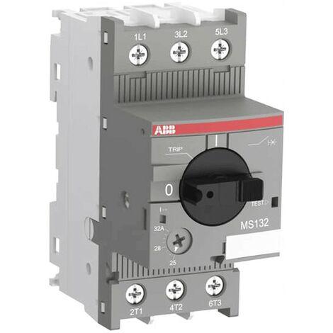 Moteur interrupteur de protection Abb 10-16A 100 duodecies bis 2,5 modules MS132EP 885 6