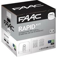 Moteur pour portail kit cyclo 24v 'safe&green' 1059995