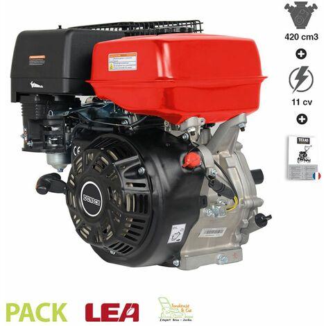 Moteur thermique 4 temps 420 cc de remplacement pour broyeur bétonnière outillage motorisé - Rouge