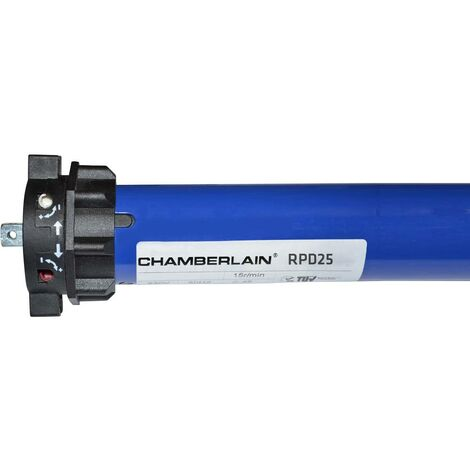 Moteur tubulaire Chamberlain RPD25-05 Force de traction (max.) 50 kg 191 W 25 Nm