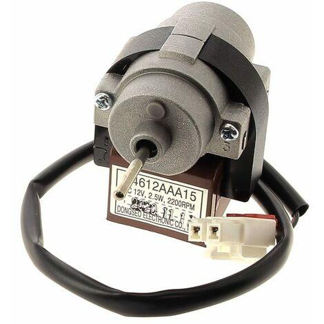 Moteur ventilateur evaporateur 12v 2,5w pour Refrigerateur Daewoo
