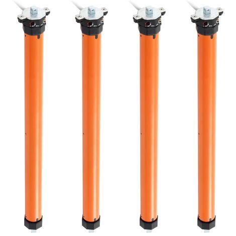 Moteurs tubulaires 4 pcs 10 Nm