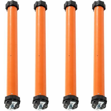Moteurs tubulaires 4 pcs 40 Nm