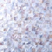 Mother of Pearl Sea Shell Mosaic Tiles sheet MT0160