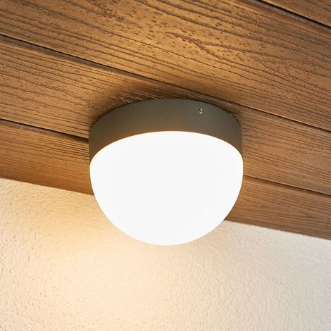 Motion detector outdoor LED ceiling lamp Fjodor