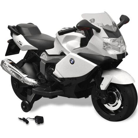 Moto eléctrica de juguete color blanca, modelo BMW 283 6 V - Multicolor