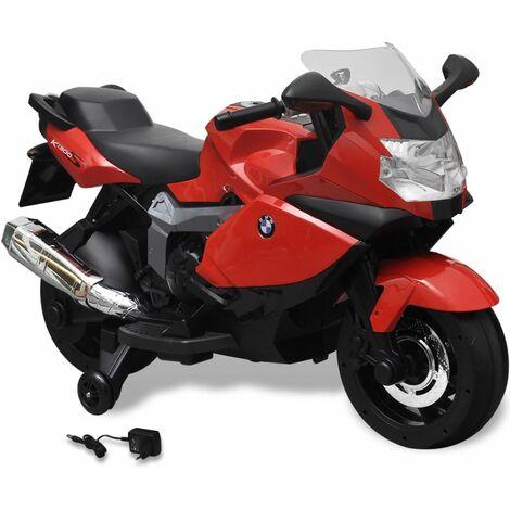 Moto eléctrica de juguete color rojo, modelo BMW 283 6 V - Multicolor