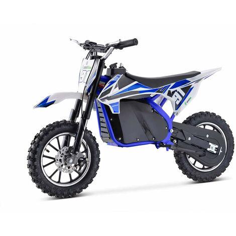 Moto Eléctrica Niños Azul BIPOWER 500W Speed Lion