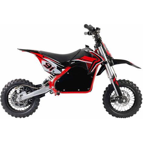 Moto Eléctrica Niños Roja HULK 1060W Elityon