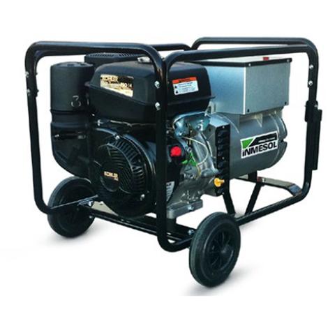 Moto soldadora 220 amperios, monofasica 230v potencia 5 kVa Inmesol AKS-500 Motor Kholer Gasolina Arranque Manual
