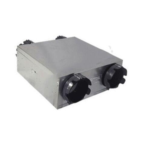 Moto-ventilateur VMC DF Modulo MV300-HE Micro-watt Auto - ALDES - 11023239 Motorisation VMC double flux Dee Fly micro-watt autoréglable - MV300HE micro-watt - 2 moteurs micro-watt 3 vitesses sur roulements à bille avec protection thermique - 4 piquages di