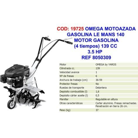 MOTOAZADA GASOLINA 3.5HP 60CM