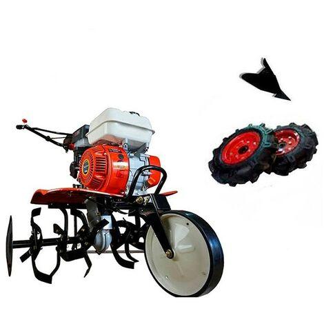 """main image of """"Motoazada gasolina Powerground 7CV con Kit Agrícola (Ruedas+Asurcador)"""""""