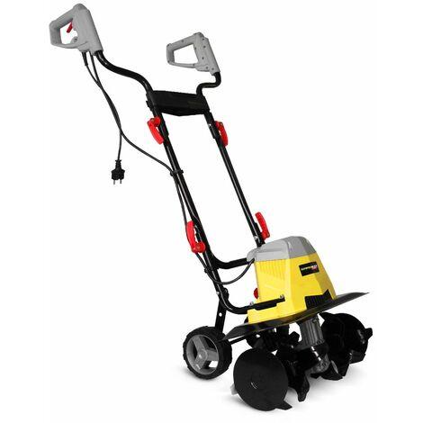 Motobineuse électrique 1500W - 6 Fraises - Gardeo
