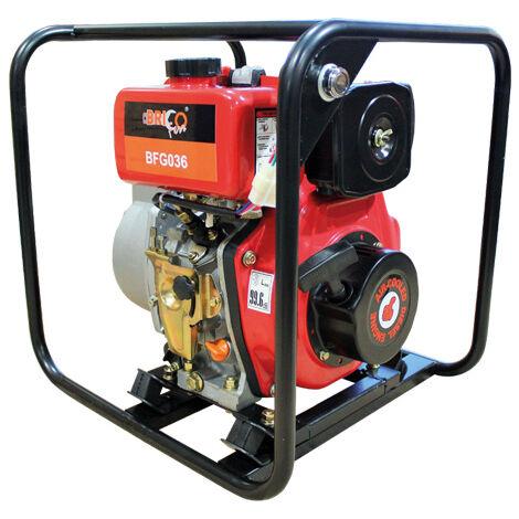 Motobomba de agua a diesel arranque eléctrico