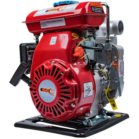 Motobomba De Agua Con Motor a Gasolina 97CC 2,5HP a 4 Tiempos - Bricoferr