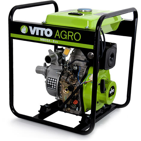 Motobomba Diesel 2'' Water Force Vito Agro Herramientas Agro Jardín,Bombas de agua,Aguas Limpias