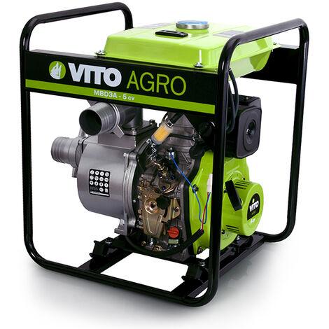 Motobomba Diesel 3'' Water Force Vito Agro Herramientas Agro Jardín,Bombas de agua,Aguas Limpias