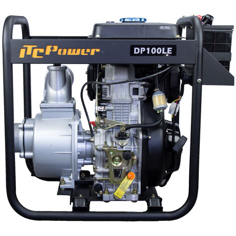 Motobomba DP100LE-ITC POWER Diesel 100 mm con arranque electrico