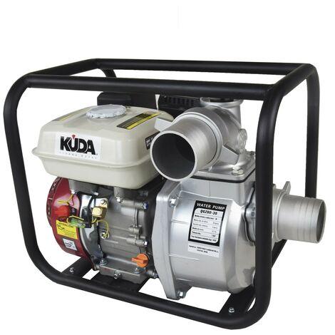 "main image of ""Motobomba gasolina 80 OHV KUDA Autoaspirante, 6,5 CV, 60000 l/h"""
