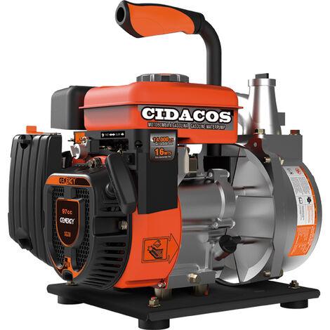 MOTOBOMBA GENERGY 4T. IDACOSII SGE30 97CC 14000L