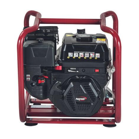 Motobomba Pramac Powermate TMP32-2, gasolina, agua semi-sucia, altura máxima 29 m, caudal máximo 530 l/min, arranque manual