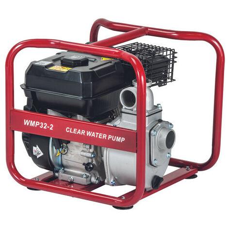 Motobomba Pramac Powermate WMP32-2, gasolina, agua limpia, altura máxima 30 m, caudal máximo 530 l/min, arranque manual