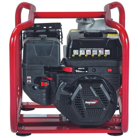 Motobomba Pramac Powermate WMP62-3, gasolina, agua limpia, altura máxima 32 m, caudal máximo 1030 l/min, arranque manual