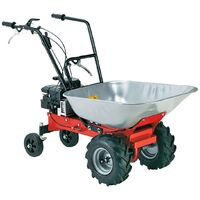 Motocarriola carriola a motore 1.87kw 100kg per agricoltura giardino - Capaldo