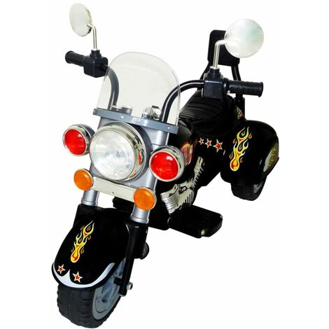 Motocicleta Para Niños Eléctrico - Negro