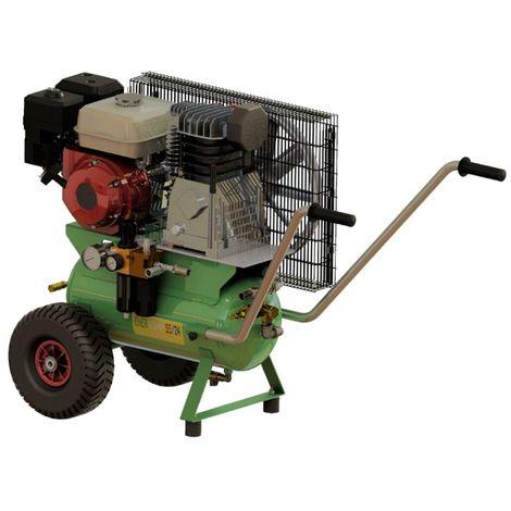 Motocompressore a benzina Minelli EnerComp 55/24 con motore Honda