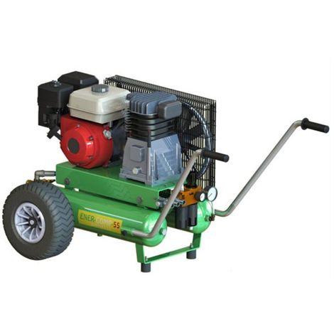 Motocompressore a scoppio Minelli EnerComp 55 con motore a benzina Honda GP 160