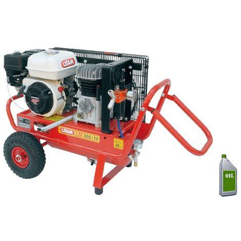 Motocompressore Lisam LM 300/10 Honda GP160