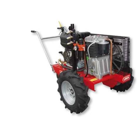 Motocompressore Lisam SEM 998/20 Bistadio Motore Honda GX340