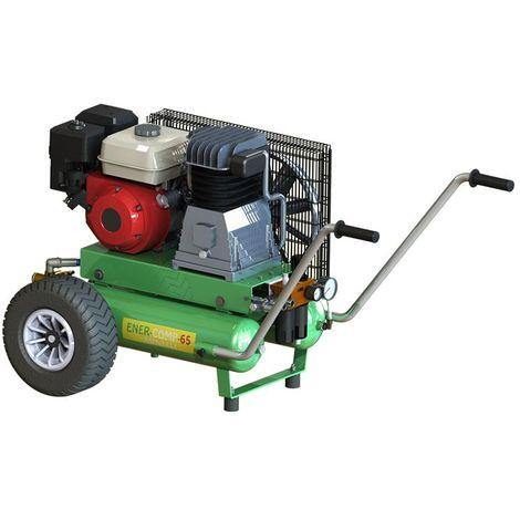 Motocompressore Minelli EnerComp65 motore Honda GX 200 e ABAC B4900 530 lt/min