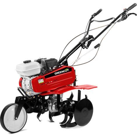 Motoculteur 208cc 7cv 85cm largeur de travail demarrage electrique -GREENCUT