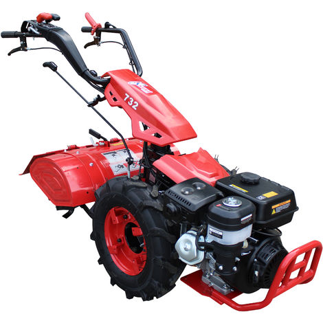 Motocultor con motor de 420cc a gasolina 9HP