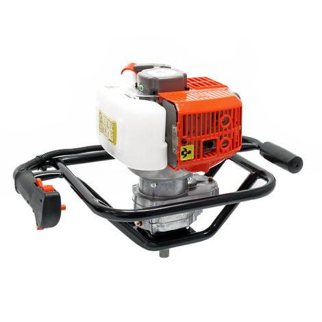 Motoperforadora Gasolina 1,4KW 52cm³ Taladro tierra Ahoyador Perforador Foresta
