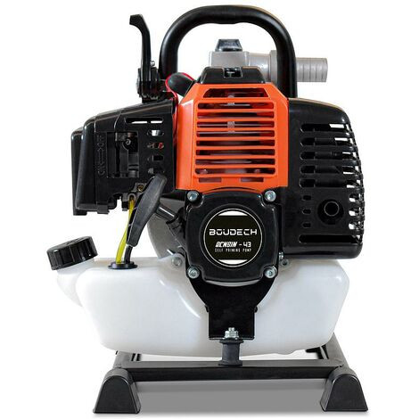 Motopompe à eau thermique auto-amorçante avec moteur à essence 40,2Cc