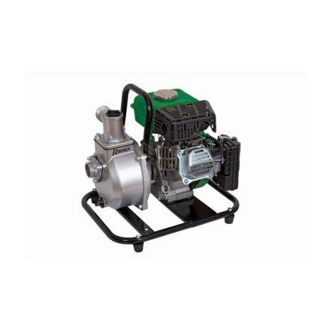Motopompe a eau thermique portable 63 cc 15000 litres heure