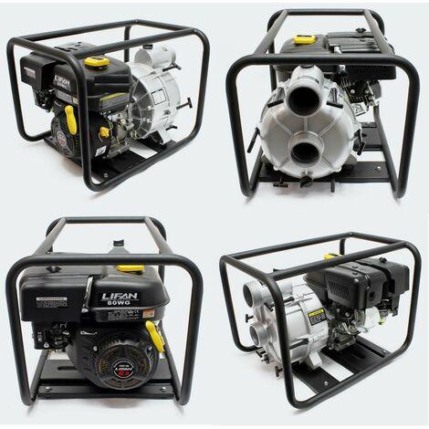 Motopompe à essence pour eaux sales 66m³/h - 4.8kW