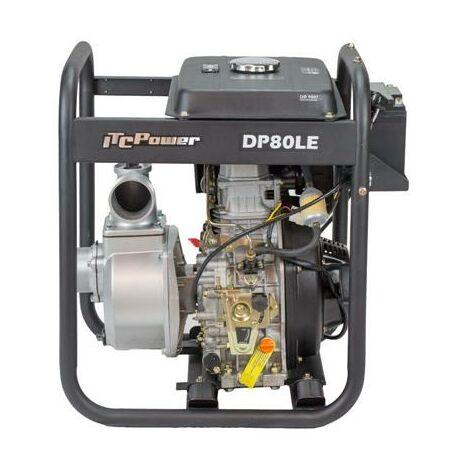 Motopompe diesel eaux très chargées 296 cc