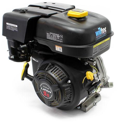 Motor de gasolina LIFAN 177 de 6,6 kW (9 CV) de 4 tiempos y 25,4 mm de arranque manual con refrigeración por aire